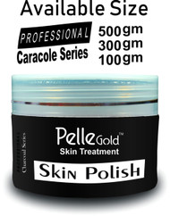 Pelle Gold Charcoal Series Skin Polish 300 gm lowest price in pakistan on saloni.pk