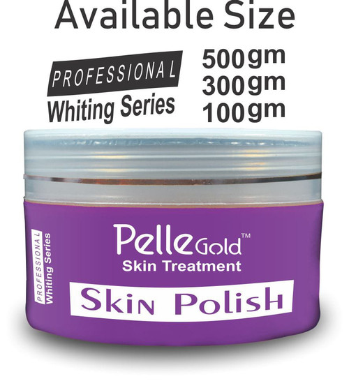 Pelle Gold Whitening Series Skin Polish 100 gm lowest price in pakistan on saloni.pk