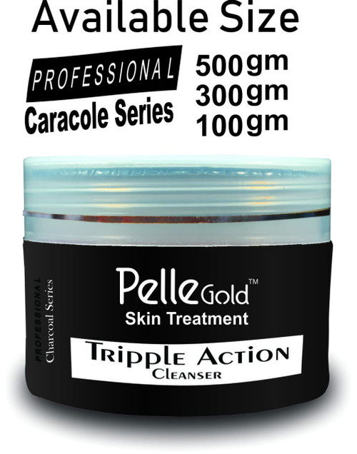 Pelle Glod Charcoal Series Triple Action Cleanser 100 gm Lowest Price on Saloni.pk