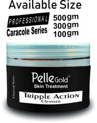 Pelle Glod Charcoal Series Triple Action Cleanser 300 gm Lowest Price on Saloni.pk
