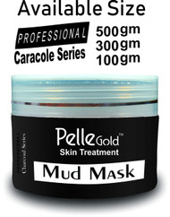 Pelle Gold Charcoal Series Mud Mask 300 gm Lowest Price on saloni.pk