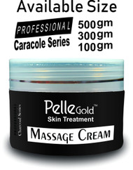 Pelle Gold Charcoal Series Massage Cream 300 Ml Lowest price on Saloni.pk