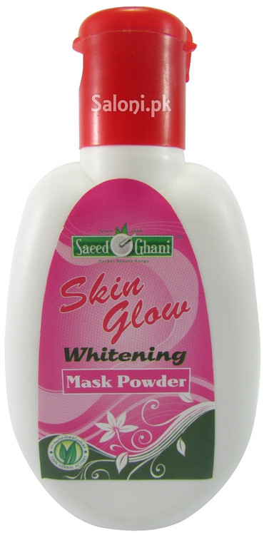 Saeed Ghani Skin Glow Whitening Mask Powder