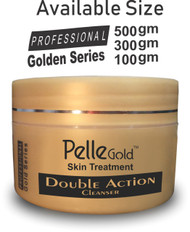Pelle Glod Gold Series Double Action Cleanser 100 gm Lowest Price on Saloni.pk
