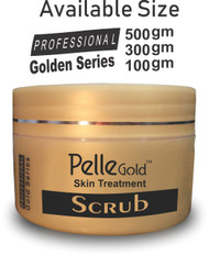 Pelle Gold Gold Series Scrub 300 Ml . Lowest price on Saloni.pk