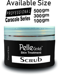 Pelle Gold Charcoal Series Scrub 100 Ml . Lowest price on Saloni.pk