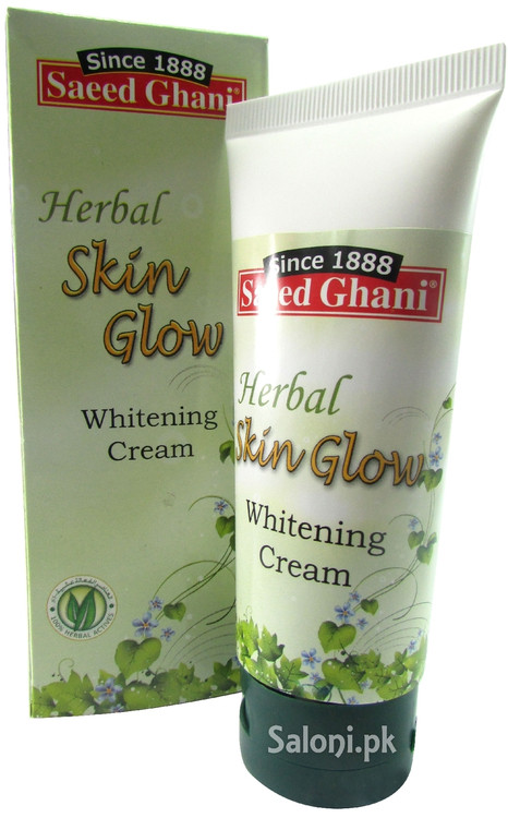 Saeed Ghani Herbal Skin Glow Whitening Cream Front
