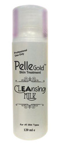 Pelle Gold Cleansing milk 120ml Lowest price on saloni.pk