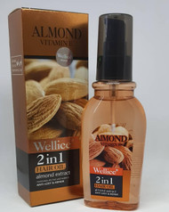 Wellice Almond Vitamin E Hair Oil 120 ML Lowest Price On Saloni.pk