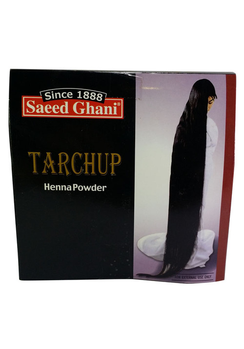 Saeed Ghani Tarchup 100% Natural Henna Powder 100 Grams