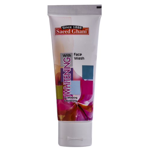Saeed Ghani Whitening Face Wash 60 Grams