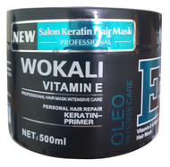Wokali Vitamin E and Keratin Hair Mask Oleo Intense Care 500 Ml Lowest Price on Saloni.pk