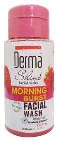 Derma Shine Morning Burst Facial Wash 200 ml Lowest Price on Saloni.pk