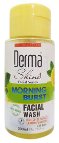 Derma Shine Morning Burst Facial Wash Lemon Flavour 200 ml Lowest Price on Saloni.pk