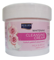 Reborn Beauty Whitening Cleansing Cream Milk & Rose 500 ml Lowest Price on Saloni.pk
