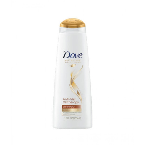Dove Anti Frizz Oil Therapy Shampoo 355ml