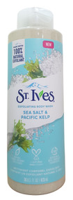 ST.Ives Sea Salt & Pacific Kelp Exfoliating Body Wash 473ml Buy online in pakistan on saloni.pk