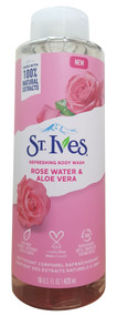 ST.Ives Rose Water & Aloe Vera Refreshing Body Wash 473ml Buy online in pakistan on saloni.pk