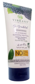 Vibrant Beauty Brightening BLACKBERRY Exfoliating Skin Polish 150ml Buy online in pakistan on saloni.pk
