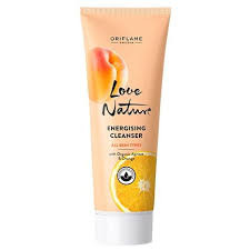 Oriflame Energising Cleanser with Organic Apricot & Orange 125 ML Lowest Price On Saloni.pk