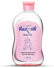 Nexton Baby Oil Vitamin E 125 ML Lowest Price on Saloni.pk