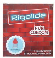 Rigolide Fun Condom Spike HammerHead 1 Piece buy online in pakistan