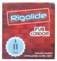 Rigolide Fun Condom Spike Funky 1 Piece  buy online in pakistan