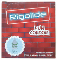 Rigolide Fun Condom Spike Spiral 1 Piece buy online in pakistan