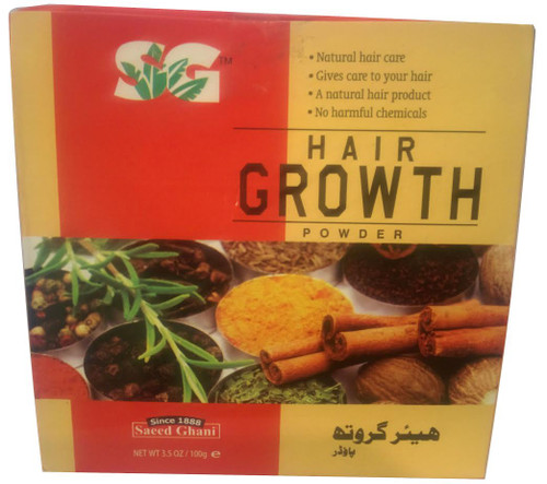 Saeed Ghani Hair Growth Powder
