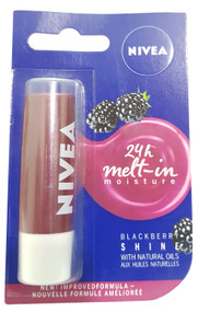 Nivea Blackberry Shine Natural Lips Oil 4.8g Buy online in Pakistan on Saloni.pk