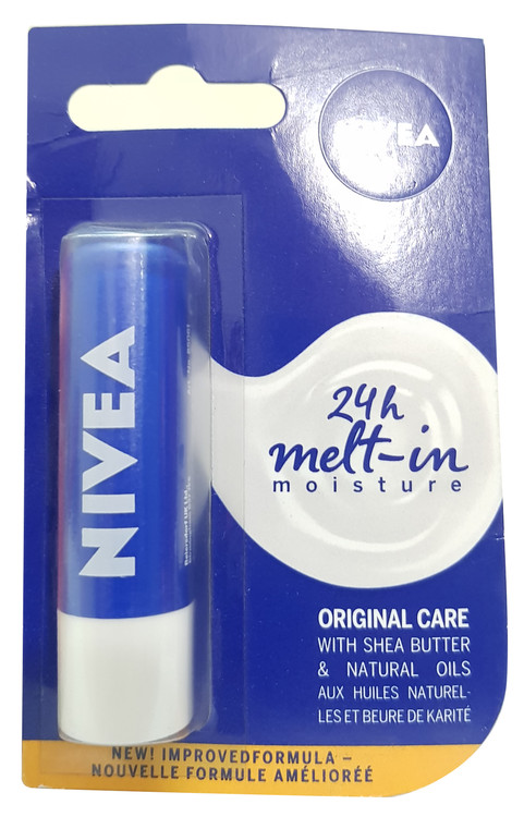 Nivea Original Care With Shea Butter Natural Lips Oil 4.8g Buy online in Pakistan on Saloni.pk
