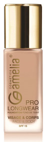 Amelia Long Pro Wear Caramel Face & Body Foundation Buy online in Pakistan on Saloni.pk