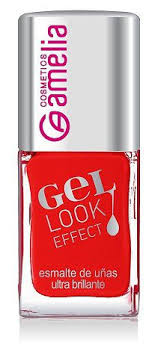 Amelia Gel Effect Nail Polish Coral Red Buy online in Pakistan from saloni.pk