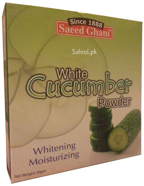 Saeed Ghani White Cucumber Powder Front