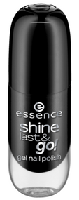 Essence Shine Last & Go! Gel Nail Polish 46 - black is back Buy online in Pakistan on Saloni.pk