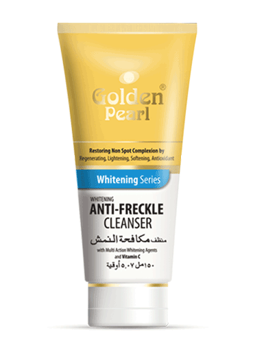 Golden Pearl Whitening Series Anti-Freckle Cleanser Front