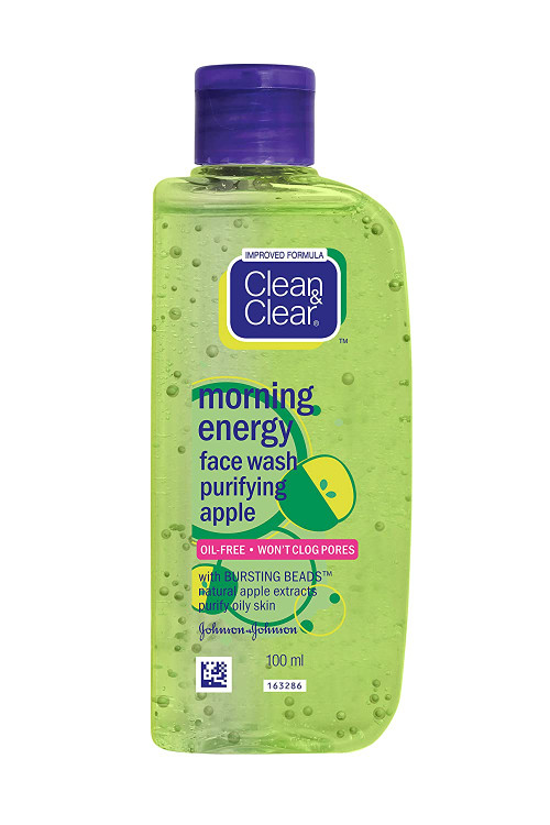 Clean & Clear Morning Energy Apple Face Wash 100ml buy online in pakistan