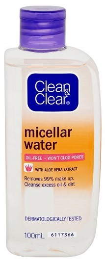 Clean & Clear Oil Free Micellar Water 100ml buy online in pakistan