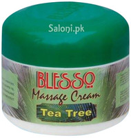 Blesso Massage Cream With Tea Tree