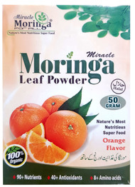 The Planner Herbal Moringa Leaf Powder 50g (Orange Flavor) buy online in pakistan