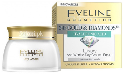 Eveline Luxury Anti-Wrinkle Day Cream + Serum