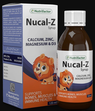 Nutrifactor Nucal-Z Syrup 120ml