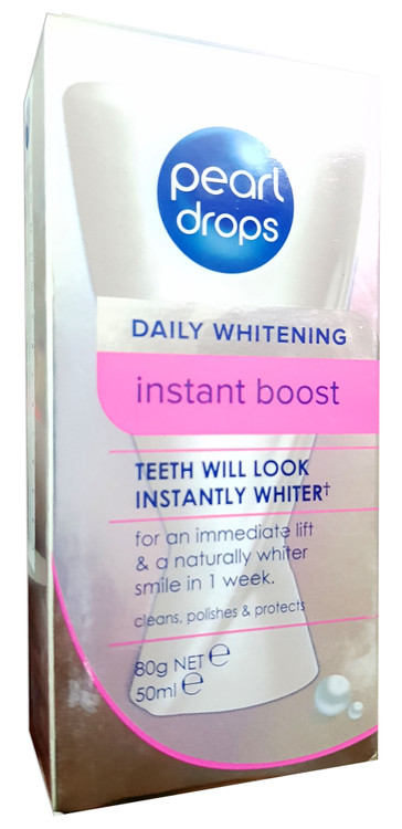 Pearl Drops Daily Whitening Instant Boost Toothpolish 50ml buy online in pakistan