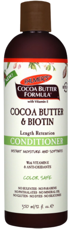 Palmer's Cocoa Butter & Biotin Length Retention Conditioner 350g Buy online in Pakistan on Saloni.pk