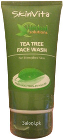 SkinVita Tea Tree Face Wash front