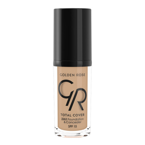 Golden Rose Total Cover 2in1 Foundation & Concealer - 06-Taupe Buy online in Pakistan on Saloni.pk