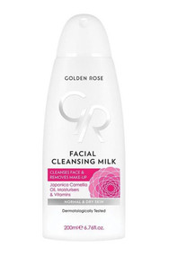 Golden Rose Facial Cleansing Milk, Make Up Remover, Normal & Dry Skin - 200ml Buy online in Pakistan on Saloni.pk