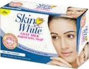 Skin White Goat Milk Whitening Soap (Dry Skin)