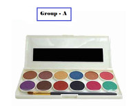 Glamorous Face 12 Color Water Base Eyeshade Kit - ( 2 Group ) Buy online in Pakistan on Saloni.pk