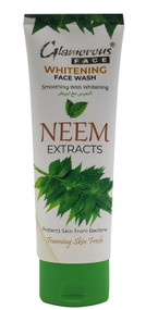 Glamorous Face Whitening Neem Extracts Face Wash 100g Buy online in Pakistan on Saloni.pk